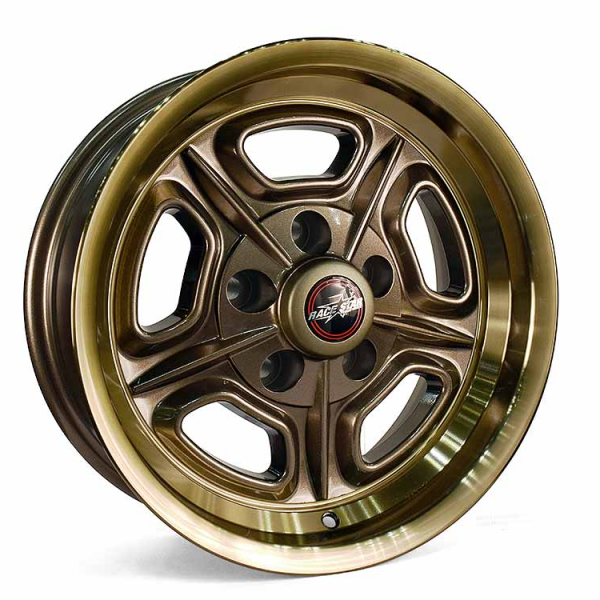 Outlaw Street Car Association - Race Star Wheels - 18x7   32 Mirage Bronze   Ford/GM   32-870950BZ