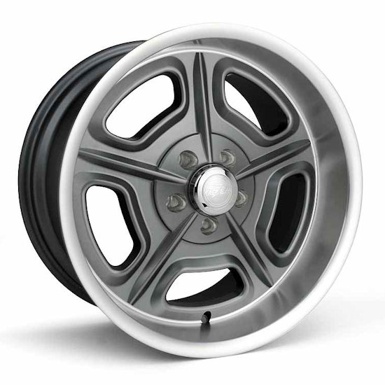 Outlaw Street Car Association - Race Star Wheels - 18x7  32 Mirage  Ford/GM  Gray Machined  32-870950GM