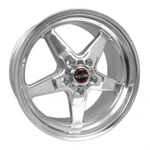 Outlaw Street Car Association - Race Star Wheels - 18x8.5  92 Drag Star  GM  Polished  92-885253DP