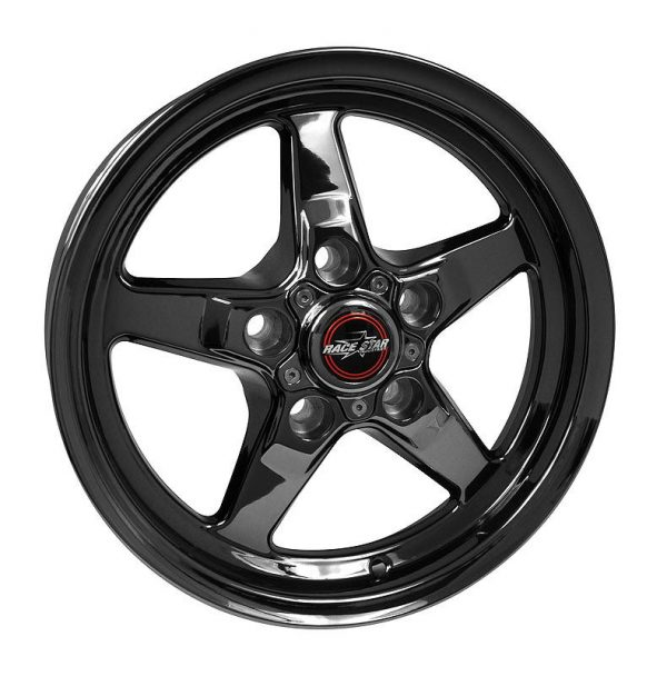Outlaw Street Car Association - Race Star Wheels - 18x8.5  92 Drag Star Dark Star  Ford  92-885152DSD