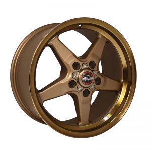 Outlaw Street Car Association - Race Star Wheels - 92 Drag Star Focus/Sport Compact 17x8  Bronze  92-780352BZ