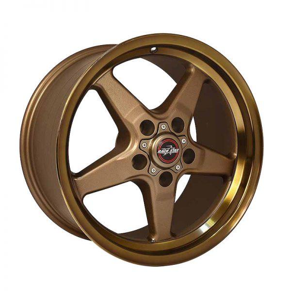 Outlaw Street Car Association - Race Star Wheels - 92 Drag Star Focus/Sport Compact 17x8  Bronze  92-780352BZ