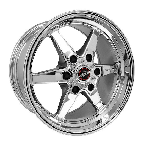 Outlaw Street Car Association - Race Star Wheels - 17x9.5  93 Truck Star  GM  Chrome  93-795852C