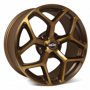 Outlaw Street Car Association - Race Star Wheels - 18x5  95 Recluse Bronze  Hellcat   95-850445BZ