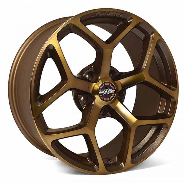 Outlaw Street Car Association - Race Star Wheels - 18x5  95 Recluse Bronze  Hellcat   95-850445BZ
