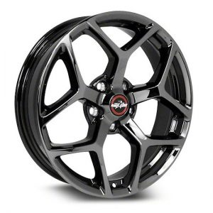 Outlaw Street Car Association - Race Star Wheels - 18x8.5  95 Recluse  GM  Black Chrome  95-885250BC