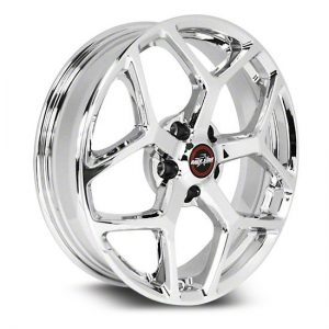 Outlaw Street Car Association - Race Star Wheels - 18x8.5  95 Recluse  GM  Chrome  95-885250C