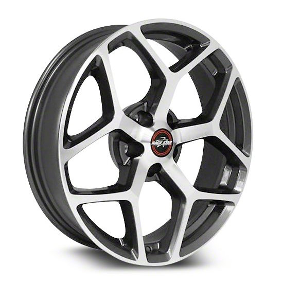Outlaw Street Car Association - Race Star Wheels - 18x8.5  95 Recluse  GM  Metallic Gray  95-885250GP