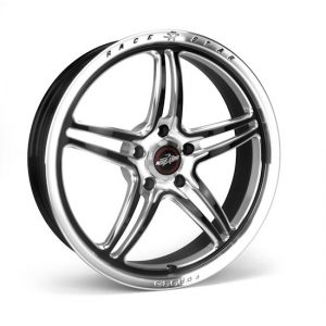 Outlaw Street Car Association - Race Star Wheels - 18x5  RSF-1 Pro Forged (Street and Strip)  Dodge  Clear Coat  01-850445MB