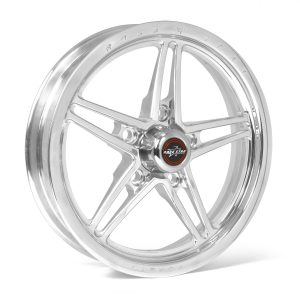 "Outlaw Street Car Association - Race Star Wheels - 63 Pro Forged 16x16 Liner Wheel Polished 5x5.50 BC 5.00"" BS"