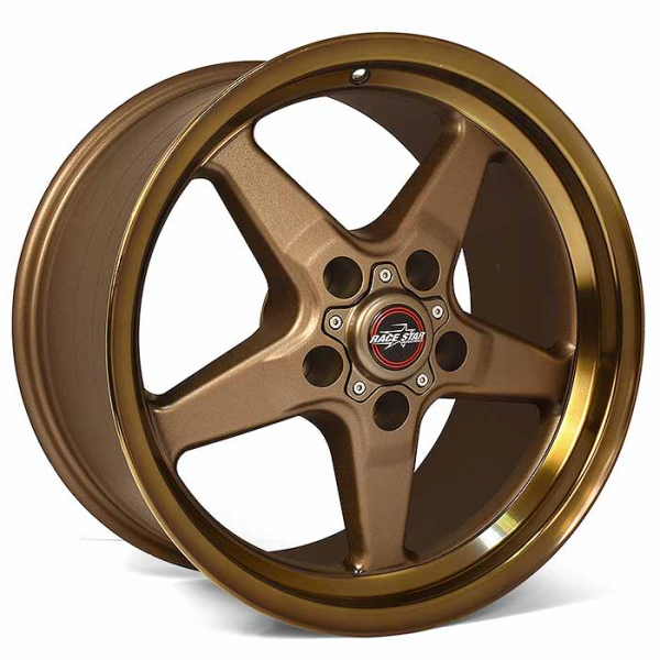 Outlaw Street Car Association - Race Star Wheels - 18x5  92 Drag Star Bracket Racer  Dodge  Bronze  92-850445BZ