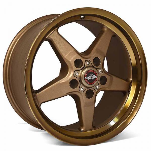Outlaw Street Car Association - Race Star Wheels - 18x5  92 Drag Star Bracket Racer  Dodge  Bronze  92-850445BZ