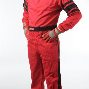 Outlaw Street Car Association - RaceQuip - SFI-1 1-L SUIT  RED - 110012A