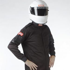 Outlaw Street Car Association - RaceQuip - SFI-1 1-L JACKET BLACK - 111000A