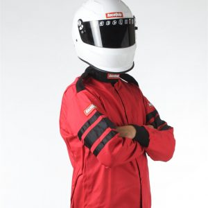 Outlaw Street Car Association - RaceQuip - SFI-1 1-L JACKET  RED - 111012A