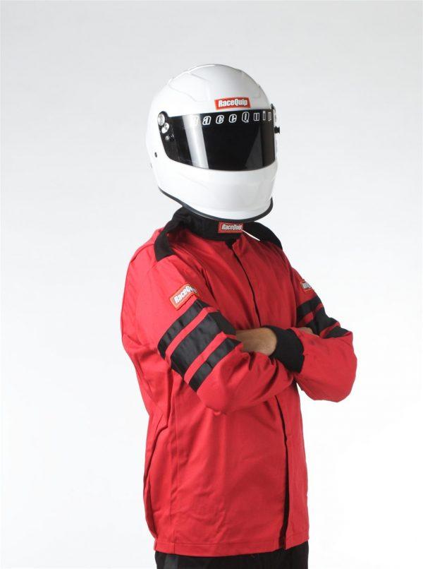 Outlaw Street Car Association - RaceQuip - SFI-1 1-L JACKET  RED - 111012A