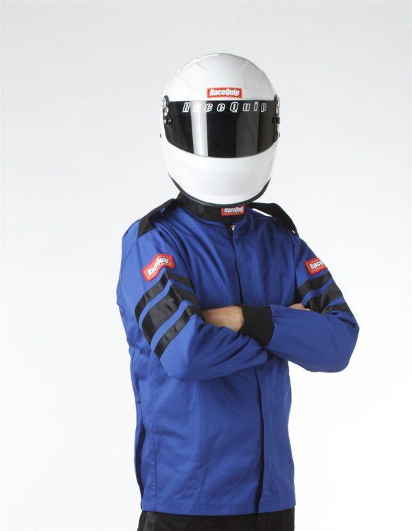 Outlaw Street Car Association - RaceQuip - SFI-1 1-L JACKET  BLUE - 111022A