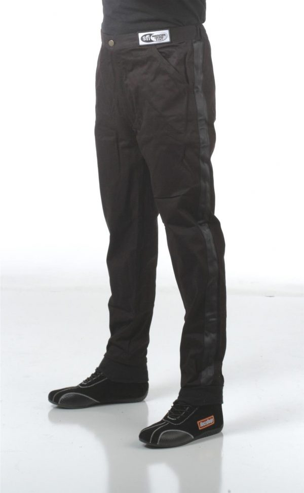 Outlaw Street Car Association - RaceQuip - SFI-1 1-L PANTS  BLACK - 112000A
