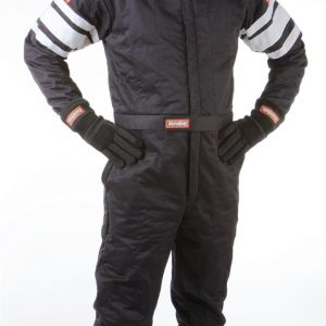 Outlaw Street Car Association - RaceQuip - SFI-5 SUIT BLACK - 120002A