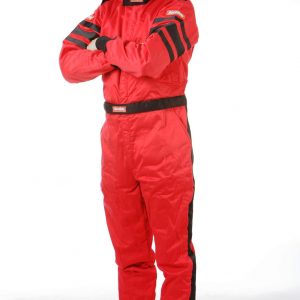 Outlaw Street Car Association - RaceQuip - SFI-5 SUIT RED - 120012A