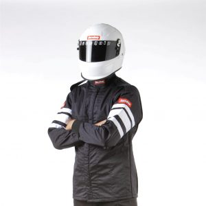 Outlaw Street Car Association - RaceQuip - SFI-5 JACKET BLACK - 121000A