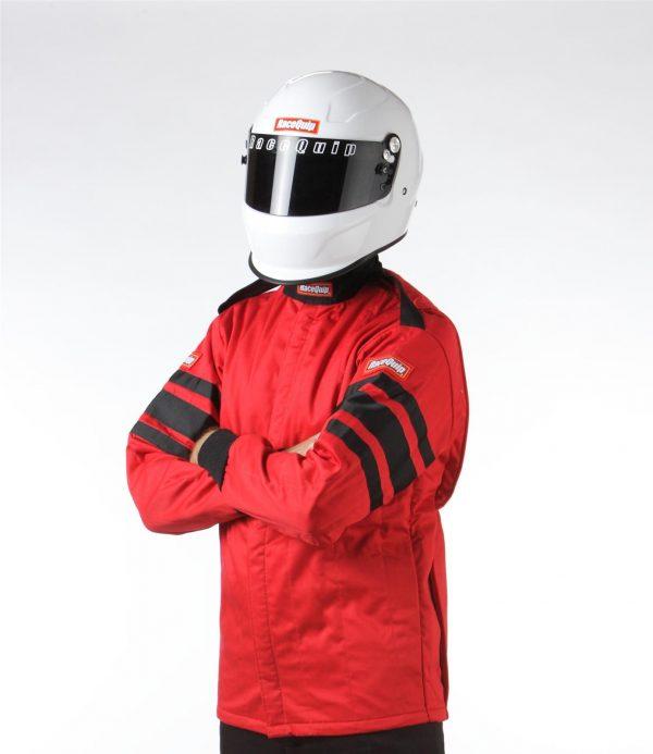 Outlaw Street Car Association - RaceQuip - SFI-5 JACKET RED - 121012A