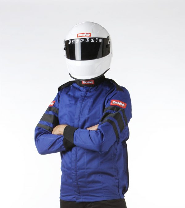 Outlaw Street Car Association - RaceQuip - SFI-5 JACKET BLUE - 121022A