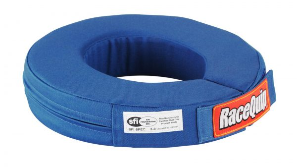 Outlaw Street Car Association - RaceQuip - SFI 360 HELMET SUPPORT BLUE - 337027