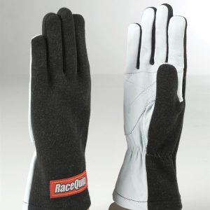 Outlaw Street Car Association - RaceQuip - BASIC RACE GLOVE BLACK - 350002A