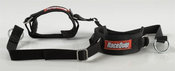 Outlaw Street Car Association - RaceQuip - STD 2' ARM RESTRAINTS BLACK - 391002