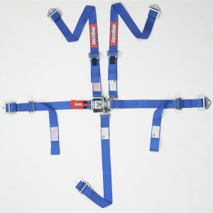 Outlaw Street Car Association - RaceQuip - JR L & L 5PT HARNESS BLUE - 709029