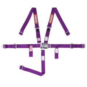 Outlaw Street Car Association - RaceQuip - JR L & L 5PT HARNESS PURPLE - 709059