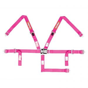 Outlaw Street Car Association - RaceQuip - JR L & L 5PT HARNESS PINK - 709089
