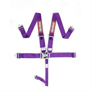 Outlaw Street Car Association - RaceQuip - L & L 5PT SEAT BELT PURPLE - 711051