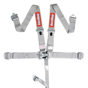 Outlaw Street Car Association - RaceQuip - L & L 5PT SEAT BELT PLATINUM - 711061