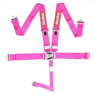Outlaw Street Car Association - RaceQuip - L & L 5PT SEAT BELT PINK - 711081