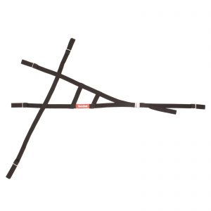 Outlaw Street Car Association - RaceQuip - TRIANGLE ROLL CAGE NET - BLACK - 727001
