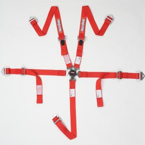 Outlaw Street Car Association - RaceQuip - JR  CAMLOCK 5PT SEAT BELTS RED - 739019