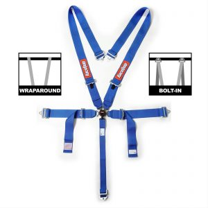 Outlaw Street Car Association - RaceQuip - SFI CAMLOCK 5PT PD LAP SEAT BELTS BLU - 741021