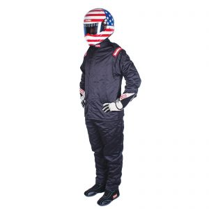 Outlaw Street Car Association - RaceQuip - CHEVRON-5 JACKET SFI-5 BLACK