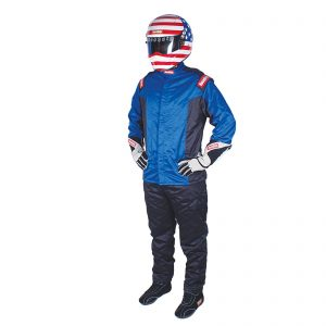 Outlaw Street Car Association - RaceQuip - CHEVRON-5 JACKET SFI-5 BLUE